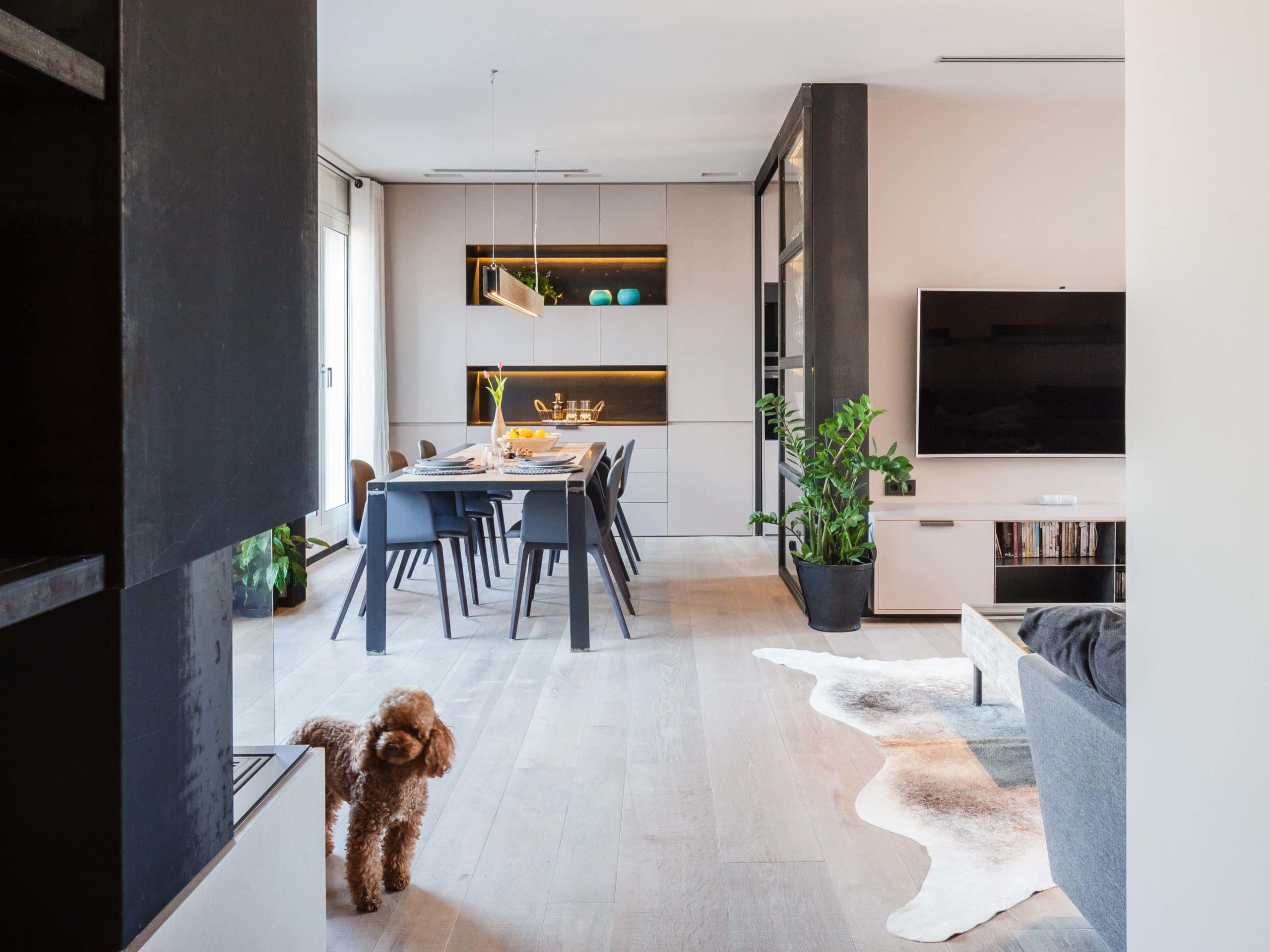Attic apartment in Balmes St., Sant Gervasi