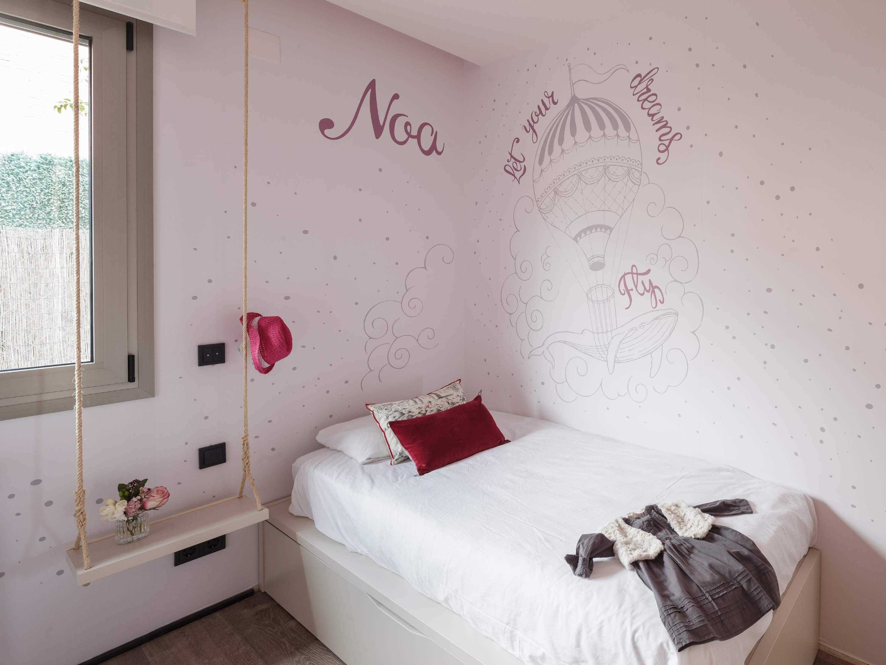 decoracion dormitorio infantil niña Sant Just