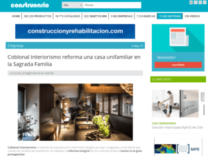 Entrevista Coblonal Interiorismo casa Sagrada Familia