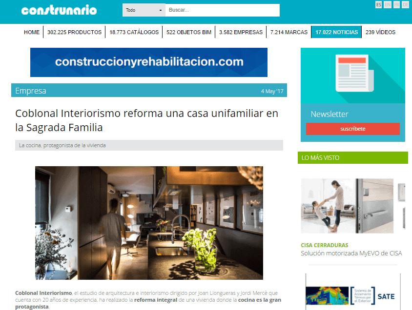 Entrevista de coblonal interiorismo para construnario - Paginas de interiorismo ...