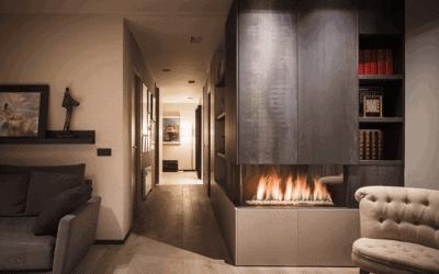 Invierno en el hogar: un interior que dialoga con el exterior