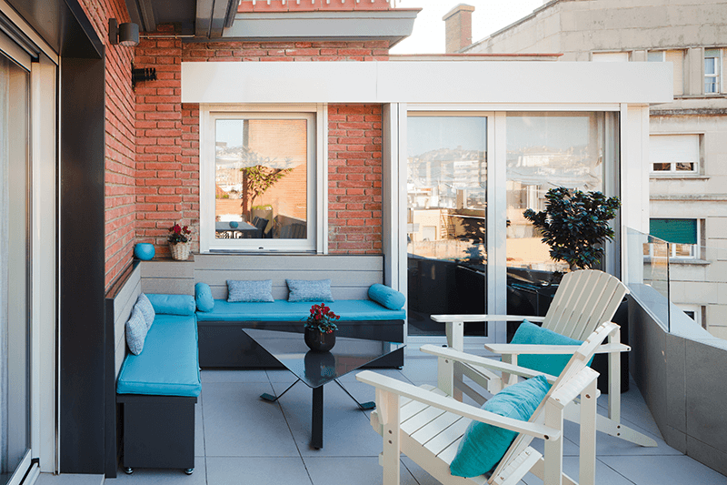 interiorismo de terraza SANT GERVASI