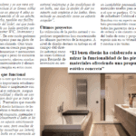 PUBLICATION OF A REPORTAGE ABOUT BATHROOMS, BY JOAN LLONGUERAS, COBLONAL INTERIORISMO