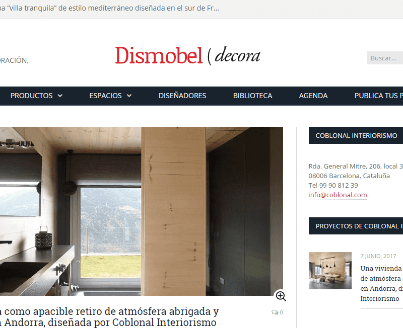 PUBLICATION OF THE PROJECT OF AN ATEMPORAL AND NORDIC STYLE HOUSING IN ANDORRA