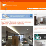 "Article about Coblonal Interior Design ""boxes"": sharing rooms and optimizing square meters"