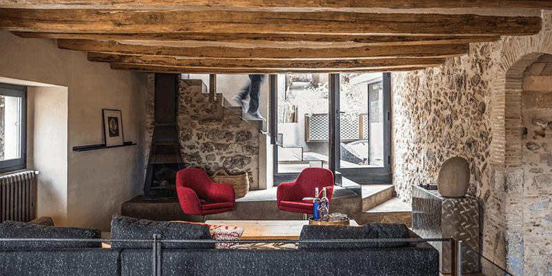interiorismo y decoracion salon Emporda Jafre