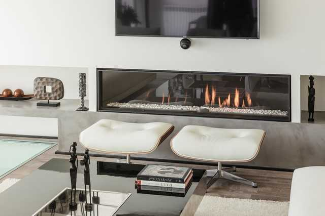 gas fireplace Coblonal Interiorismo