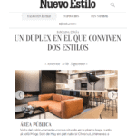 Nuevo Estilo magazine publishes a report of a duplex made by Coblonal