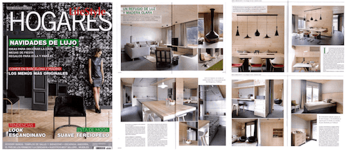 Publication of a Coblonal Interior Design project in the magazine Hogares Lifestyle