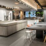 Interior design and production of the Azul Acocsa Kitchen Showroom