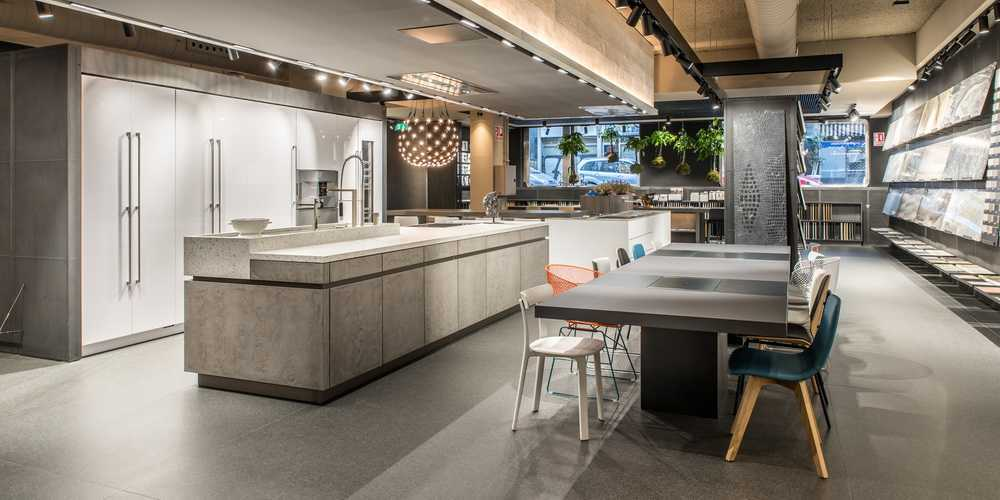 Interior design and production of the Acocsa Kitchen Showroom