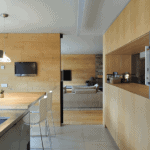 Kitchens: Sliding doors to connect or divide spaces