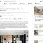 HOUZZ PUBLISHES THE INTERIOR DESIGN PROJECT OF A FLAT IN SARRIÀ