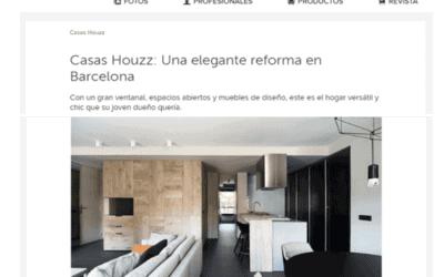 HOUZZ PUBLICA EL PROYECTO DE INTERIORISMO DE UN PISO EN SARRIÀ