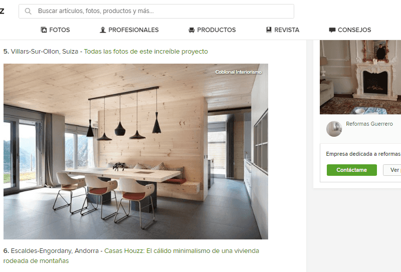 Our interior design project for a house in Andorra appears on Houzz