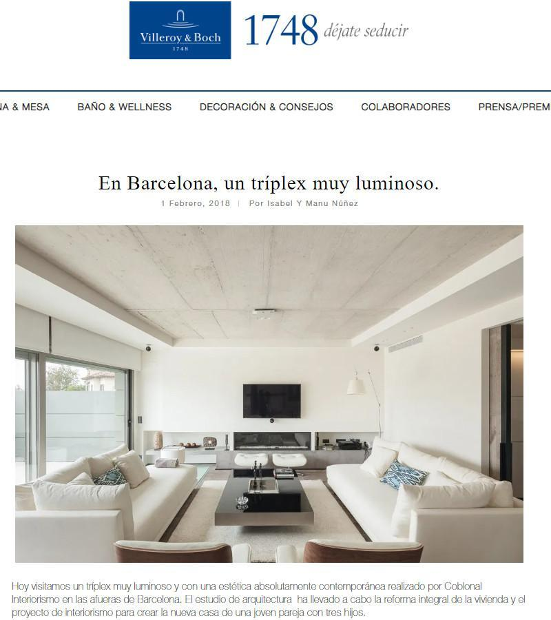 VILLEROY & BOCH PUBLISHES THE SANT JUST INTERIOR DESIGN PROJECT