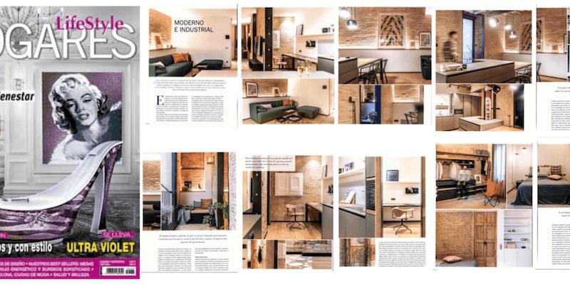 El nostre apartament al barri de Galvany surt publicat a la revista Hogares