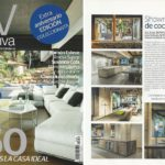 Appearance of the Azul Acocsa kitchen showroom in the Casa Viva Magazine