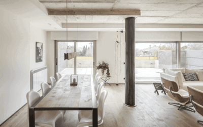 Dining room, an interior space in transformation