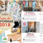 Double appearance in the Special 2018 Reforms of the magazine Interiores