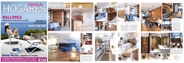 Our latest work in Sant Cugat is published in the magazine Hogares