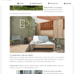A chaise longue designed by Coblonal appears in Houzz