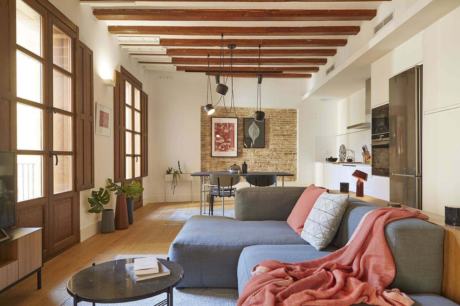 A unique apartment in the gothic quarter of Barcelona