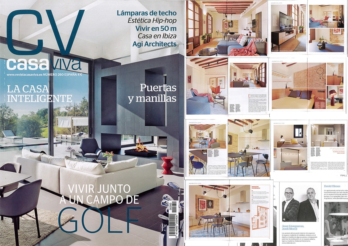 New appearance in the magazine Casa Viva: Apartment in the Gothic Quarter