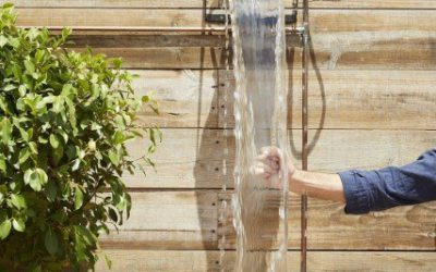 Options to cool off with water on terraces, patios or gardens