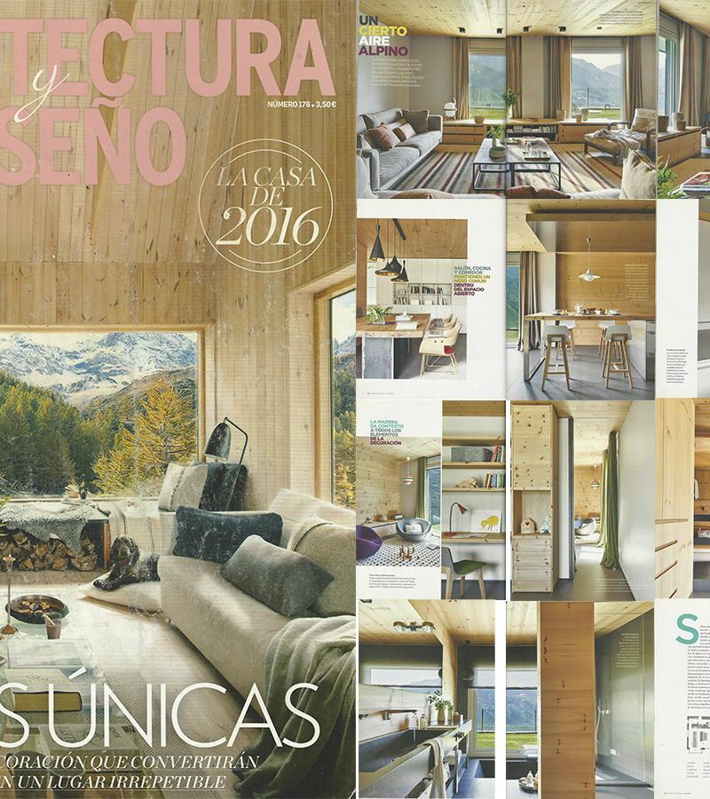 Arquitectura y Diseño publishes an spectacular reportage of our project in Andorra