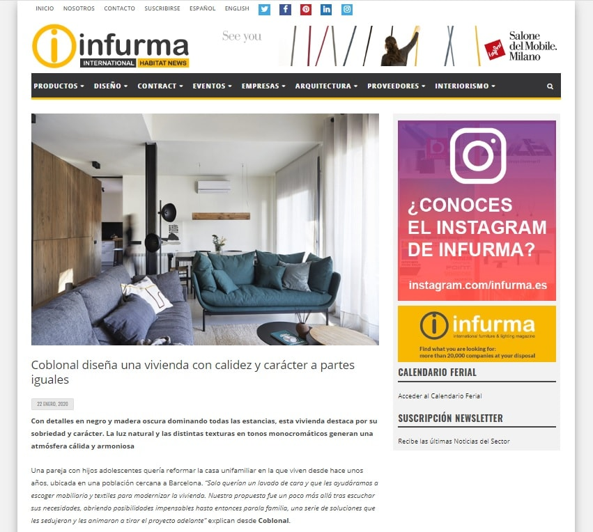 Our work appears in Infurma