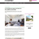 Interiores publishes a Casa Burés' apartment furnished by Coblonal