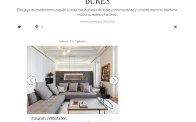 Nuevo Estilo publishes our project in Casa Burés