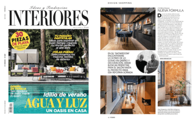 Coblonal Interior Design Studio in Interiores magazine
