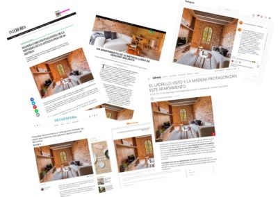 Different media publish our project on Cartagena street