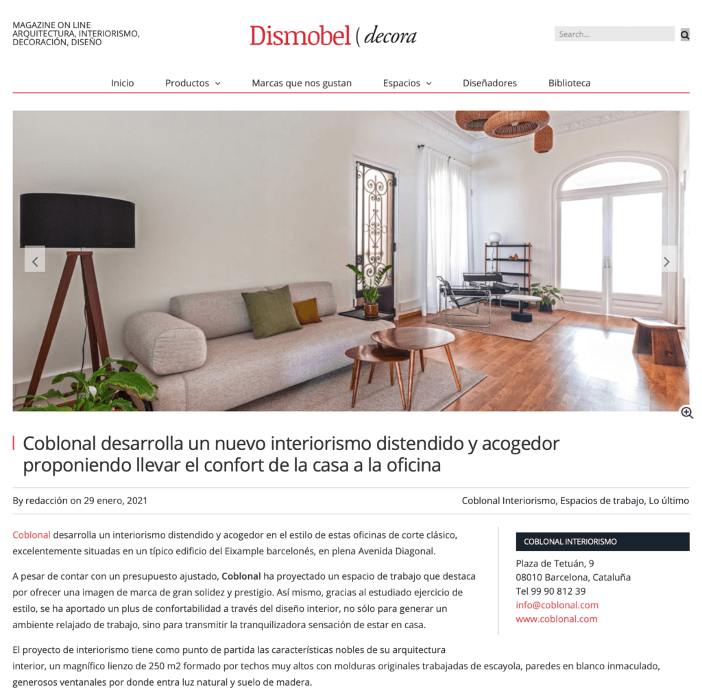 Home-office Diagonal Coblonal